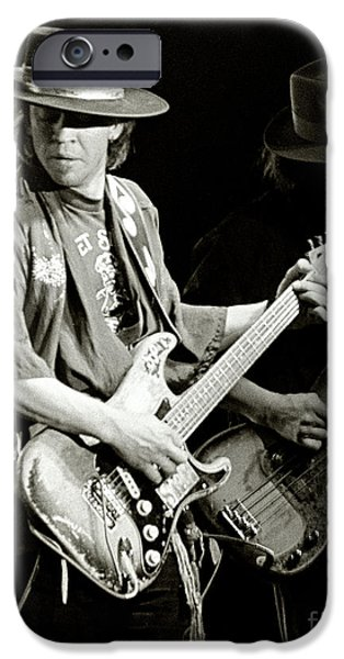 Stevie Ray Vaughan 1984 IPhone Case by Chuck Spang