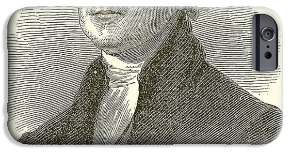 Thomas Jefferson IPhone Case by English School
