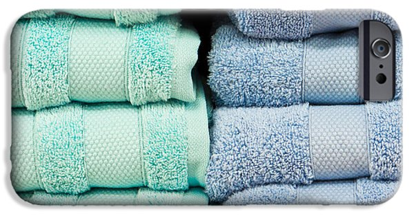 Towels IPhone Case by Tom Gowanlock