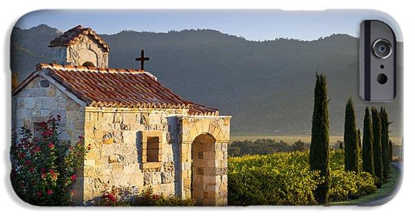 Vineyard Prayer Chapel IPhone 6s Case by Brian Jannsen