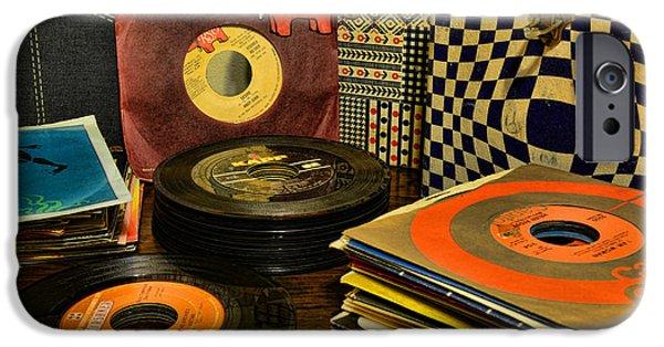 Vintage Vinyl IPhone Case by Paul Ward