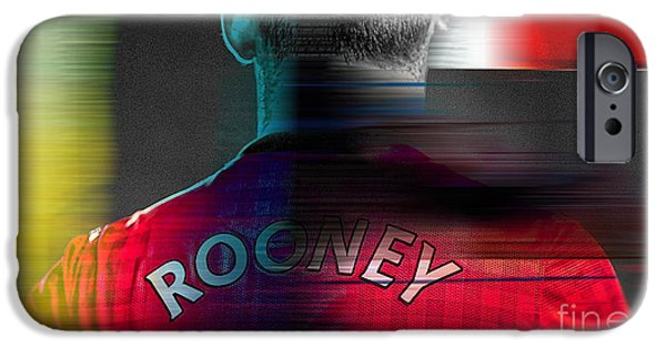 Wayne Rooney IPhone 6s Case by Marvin Blaine