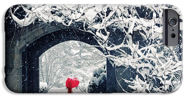Winter's Lace IPhone Case by Jessica Jenney