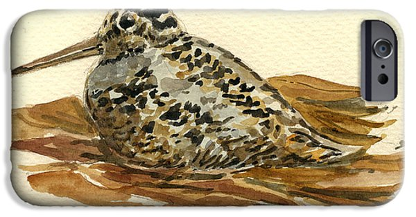 Woodcock IPhone 6s Case by Juan  Bosco