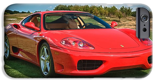 2001 Ferrari 360 Modena IPhone 6s Case by Sebastian Musial