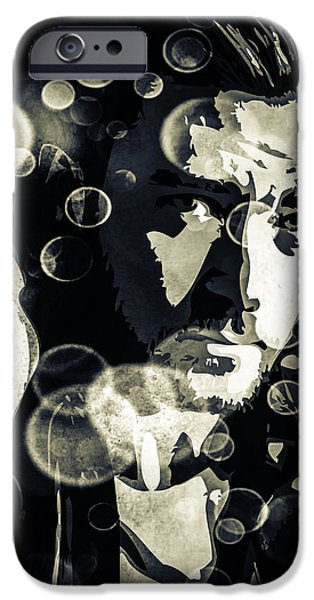 Justin Timberlake IPhone Case featuring the digital art Justin Timberlake by Svelby Art