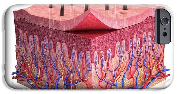 Human Skin IPhone Case by Pixologicstudio