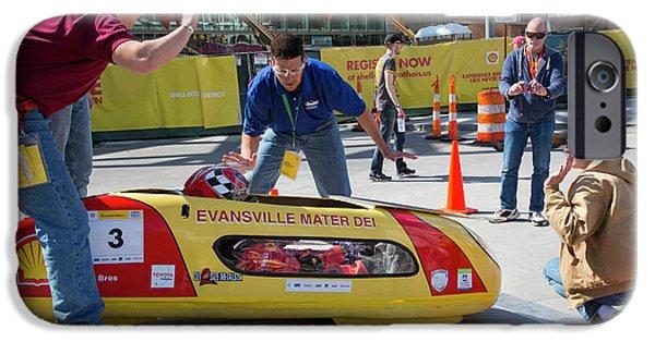 Fuel-efficient Vehicle Competition IPhone Case by Jim West