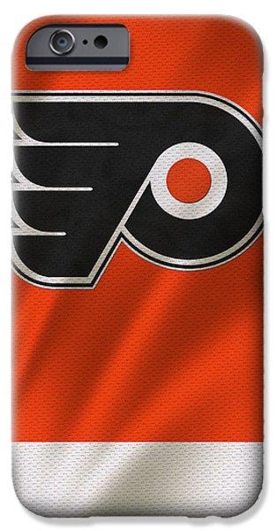 Philadelphia Flyers IPhone Case by Joe Hamilton