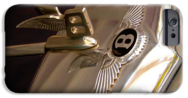1956 Bentley S1 IPhone Case by David Patterson