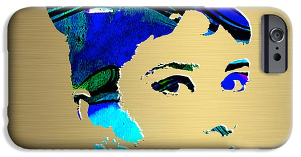 Audrey Hepburn Gold Series IPhone 6s Case by Marvin Blaine
