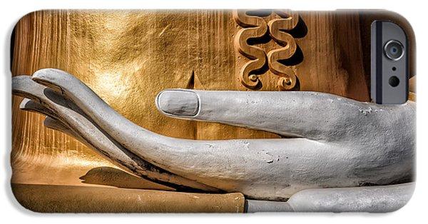 Buddha Hand IPhone Case by Adrian Evans