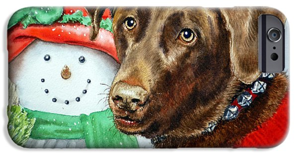 Christmas IPhone Case by Irina Sztukowski