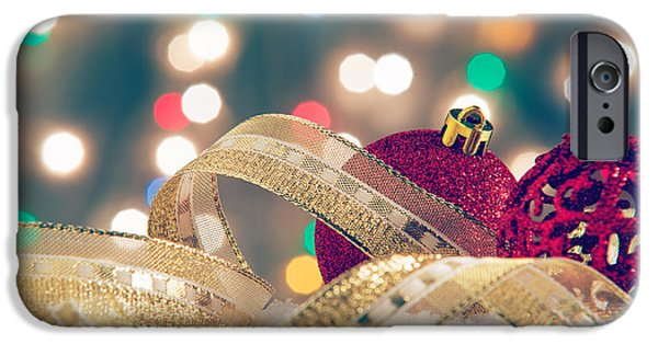 Christmas Still-life IPhone Case by Carlos Caetano