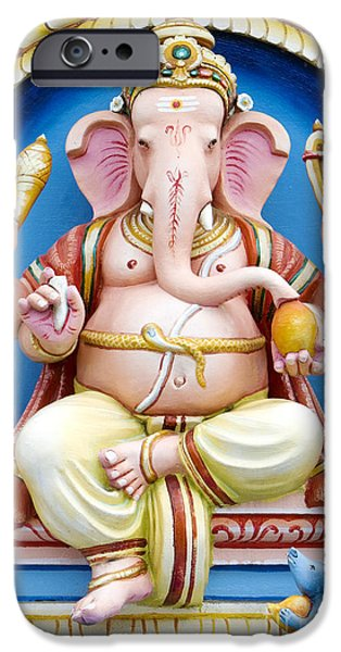 Ganesha IPhone Case by Tim Gainey