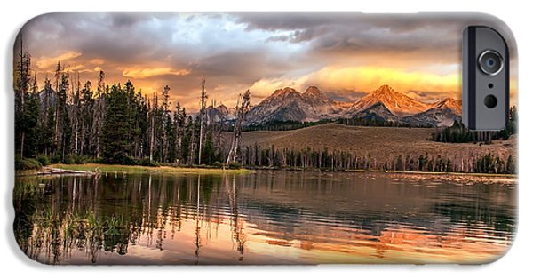 Golden Sunrise IPhone Case by Robert Bales