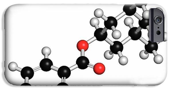 Homosalate Sunscreen Molecule IPhone Case by Molekuul