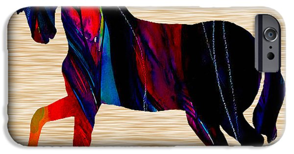 Horse IPhone Case by Marvin Blaine