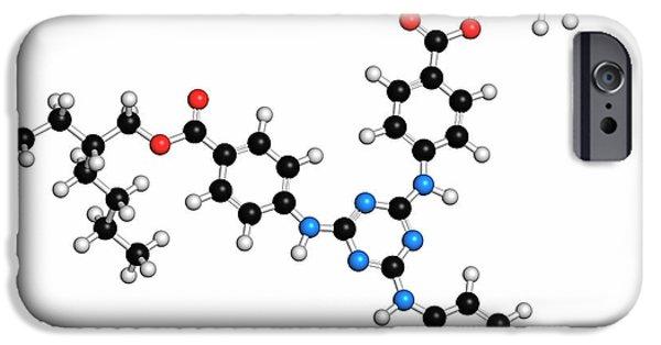 Iscotrizinol Sunscreen Molecule IPhone Case by Molekuul