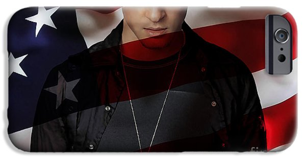 Justin Timberlake IPhone Case featuring the mixed media Justin Timberlake by Marvin Blaine