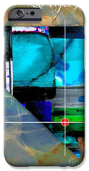 Las Vegas Nevada Map Watercolor IPhone 6s Case by Marvin Blaine