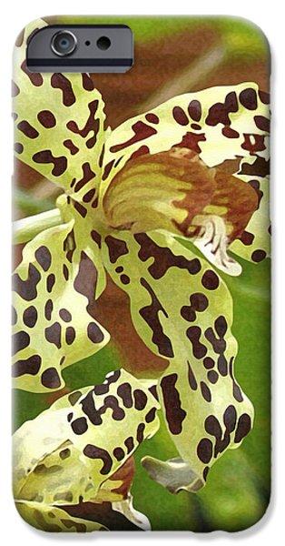 Leopard Orchids IPhone 6s Case by Ellen Henneke