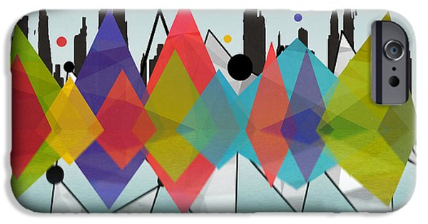 New York IPhone Case by Mark Ashkenazi