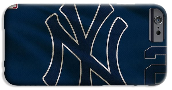 New York Yankees Derek Jeter IPhone 6s Case by Joe Hamilton