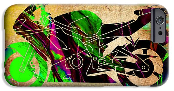 Ninja Motorcycle IPhone 6s Case by Marvin Blaine
