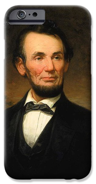 President Abraham Lincoln IPhone 6s Case by William F Cogswell