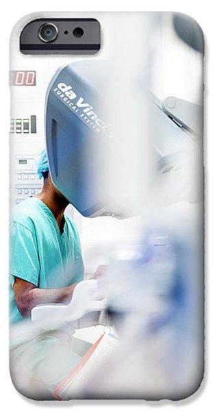 Robotic Prostate Surgery IPhone Case by Aberration Films Ltd