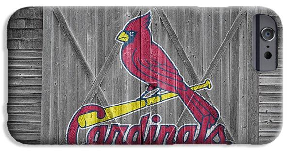 St Louis Cardinals IPhone Case by Joe Hamilton