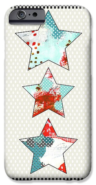 3 Stars IPhone Case by Sarah Ogren