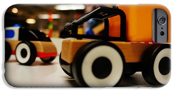 Toy Vehicle IPhone Case by Celestial Images