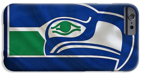 Seattle Seahawks IPhone Case by Joe Hamilton