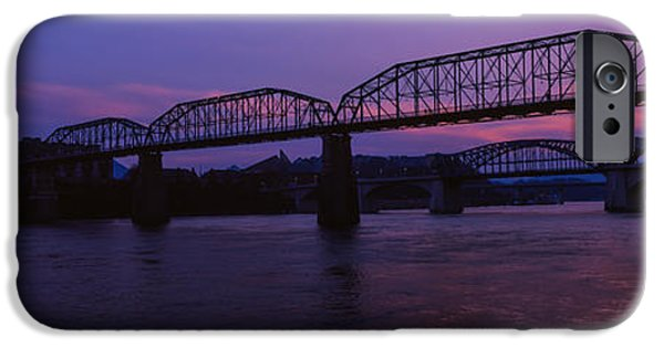 Bridge Across A River, Walnut Street IPhone Case by Panoramic Images