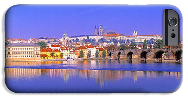 Charles Bridge, Prague, Czech Republic IPhone Case by Panoramic Images