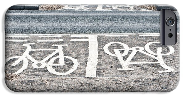 Cycle Path IPhone Case by Tom Gowanlock