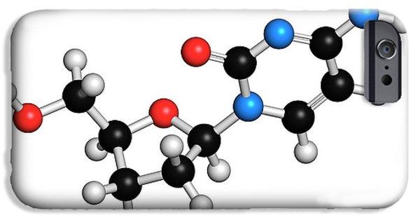 Deoxycytidine Nucleoside Molecule IPhone Case by Molekuul