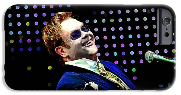 Elton John IPhone 6s Case by Marvin Blaine