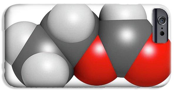 Ethylhexyl Triazone Sunscreen Molecule IPhone Case by Molekuul