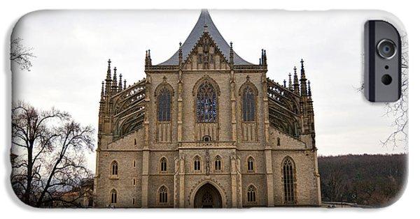 Saint Barbara Church  IPhone Case by Michal Boubin