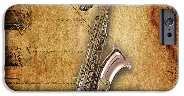 Saxophone Collection IPhone 6s Case by Marvin Blaine
