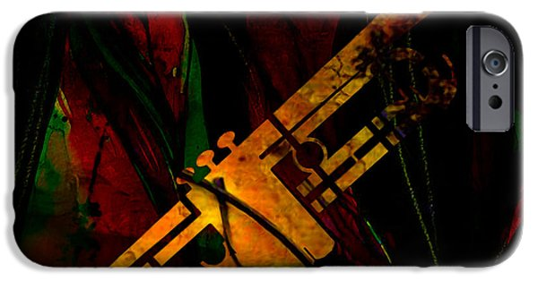 Trumpet IPhone 6s Case by Marvin Blaine