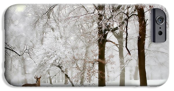 Winter's Breath IPhone Case by Jessica Jenney