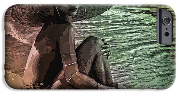 Rihanna IPhone 6s Case by Svelby Art