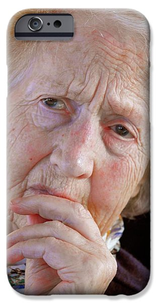 Alzheimer's Patient IPhone Case by Tony Craddock