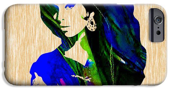 Amy Winehouse Collection IPhone Case by Marvin Blaine