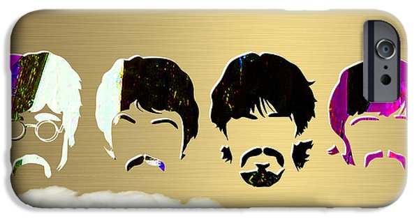 Beatles Gold Series IPhone 6s Case by Marvin Blaine