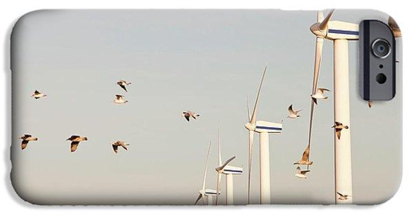 Wind Turbine In Workington IPhone Case by Ashley Cooper